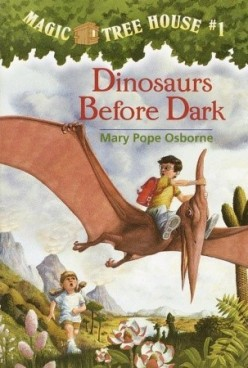 dinosaur magic tree house